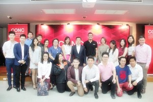 """CONC thammasat forum by MCP33 """"Valentines with Wine I Love You"""""""