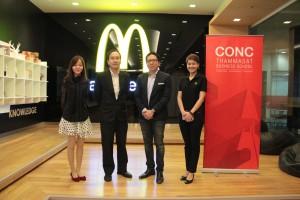CONC Thammasat Forum ''Transformation of Thai SMEs in Retail Business''