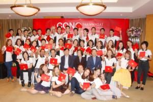 พิธีมอบวุฒิบัตร หลักสูตรพัฒนาผู้บริหาร Global Mini MBA 85 : (Entrepreneurial Manager Series)