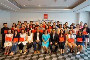 พิธีมอบวุฒิบัตรและปิดอบรม หลักสูตร พัฒนานักการตลาดดิจิตอลยุคใหม่ (DMP) รุ่นที่ 19