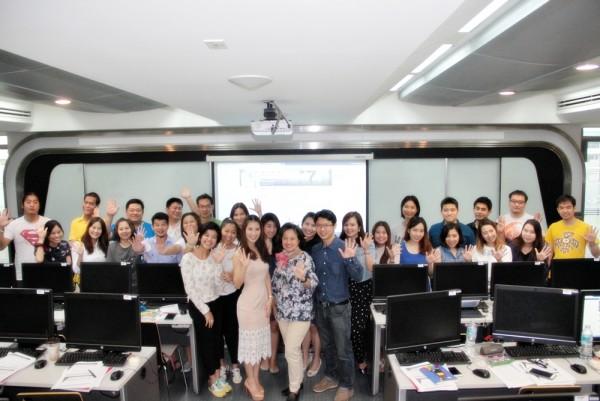 บรรยากาศการอบรม Digital Marketing Certificate Program - DMP