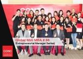 พิธีมอบวุฒิบัตร หลักสูตรพัฒนาผู้บริหาร Global Mini MBA 88 : (Entrepreneurial Manager Series)