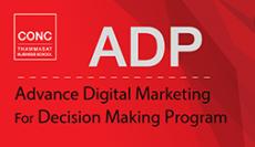 โครงการอบรมหลักสูตร Advance Digital Marketing For Decision Making Program (ADP)