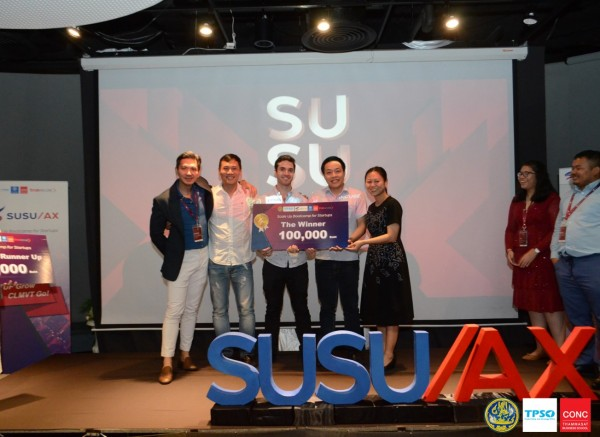 SUSU/AX the only program in Thailand that incubates startups from CLMVT