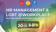 CONC Thammasat Forum ''HR Management & LGBT @Workplace''